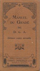 Manuel Du Gradé de D.C.A.