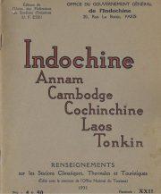Indochine Annam Cambodge Cochinchine Laos Tonkin