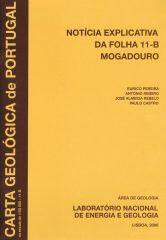 Notícida Explicativa da Folha 11-B Mogadouro