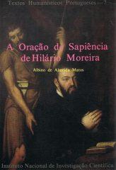 A Oração de Sapiência de Hilário Moreira
