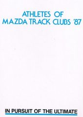 Athletes of Mazda Track Clubs 87