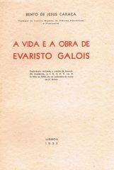A vida e obra de Evaristo Galois
