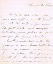 Scizogonia – Carta de Manoel Pinto, do Porto dirigida ao Dr.Carlos França