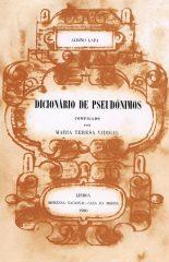 Dicionário de Pseudónimos