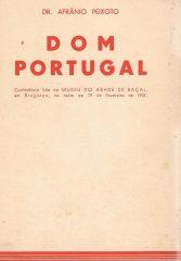 Dom Portugal – Conferência lida no Museu do Abade de Baçal, em Bragança, na noite de 19 de Fevereiro de 1937