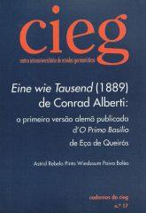 Eine wieTausend (1889) de Conrad Alberti: a primeira versão alemã publicada d' O Primo Basílio de Eça de Queiroz