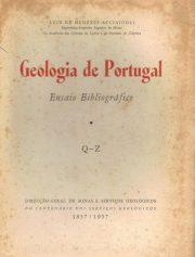 Geologia de Portugal – Ensaio Bibliográfico