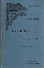 La Chimie de la Cellule Vivante