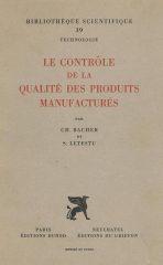Le Contrôle de la Qualité des Produits Manufacturés