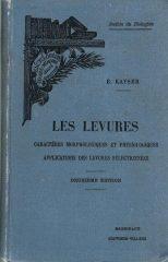 Les Levures – Caractêres Morphologiques et Physiologiques Applications des Levures Sélectionnées