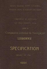 Caboteur a Moteurs den 1350 Tonnes D.W.