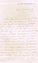 Carta de L. Tanon dirigida ao Dr.Carlos França