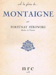 Montaigne – Sa vie publique et privée