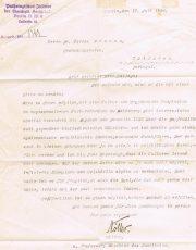 Tripanossomas Helobedella Algira – Carta de Naller dirigida ao Dr.Carlos França