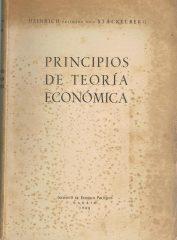 Princípios de Teoria Económica