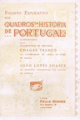 Folheto Explicativo dos Quadros da História de Portugal