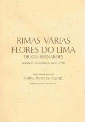 Rimas Várias Flores do Lima Diogo Bernardes