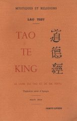 Tao Te King – Le livre du tao et de sa vertu