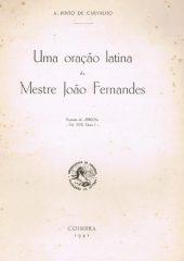 Uma oração latina de Mestre João Fernandes