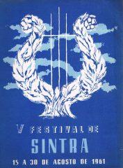 V Festival de SINTRA 15 a 30 de Agosto de 1961