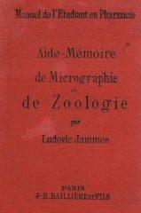 Manuel de l'Etudiant en Pharmacie – Aide-Mémorie de Micrographie de Zoologie