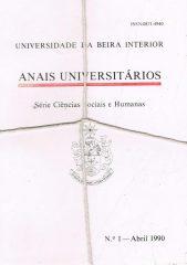 Anais Universitários – Série Ciências Sociais e Humanas