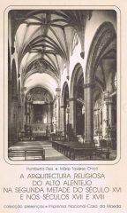 A Arquitectura Religiosa do Alto Alentejo, Na Segunda Metade do Século XVI e nos Séculos XVII e XVIII