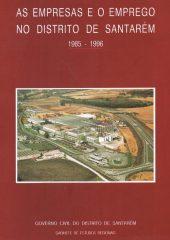As empresas e o emprego no distrito de Santarém 1985-1996