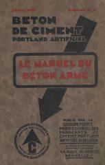 Beton de Ciment Portland Artificiel – Le Manuel du Béton Armé