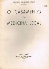 O Casamento em Medicina Legal