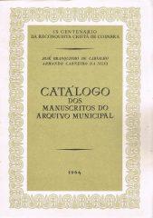 Catálogo dos Manuscritos do Arquivo Municipal