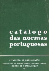 Catálogo das Normas Portuguesas