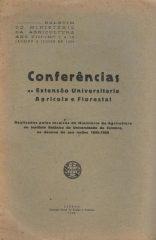 Conferências da Extensão Universitária Agrícola e Florestal