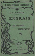 Engrais – Les Matières Fertilisantes
