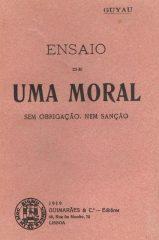 Ensaio de uma moral sem obrigação, nem sanção