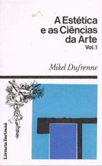 A estética e as ciências da arte