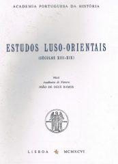 Estudos Luso-Orientais (Séculos XIII-XIX)