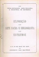 Exposição de Arte Sacra e Bibliografia de Estremoz