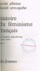 Histoire du Feminisme Français