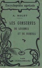 Les Conserves de Legumes et des Viandes