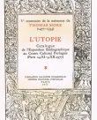 Ve Centenaire de la naissance de Thomas More (1477-1535):
