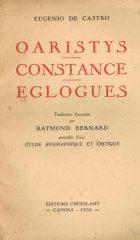 Oaristys Constance Eglogues