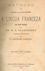 Methodo para aprender a ler, fallar e escrever a lingua Franceza