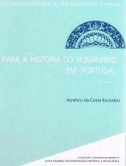 Para a História do Humanismo em Portugal