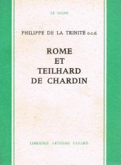 Rome et Teilhard de Chardin