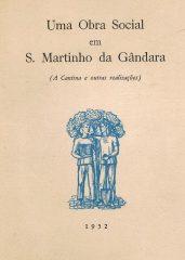Uma obra social em S.Martuinho da Gândara – (A Cantina e outras realizações)